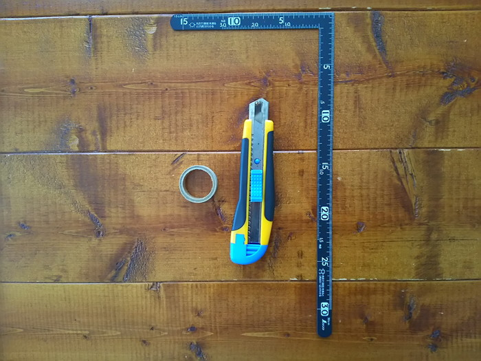壁紙補修に必要な道具