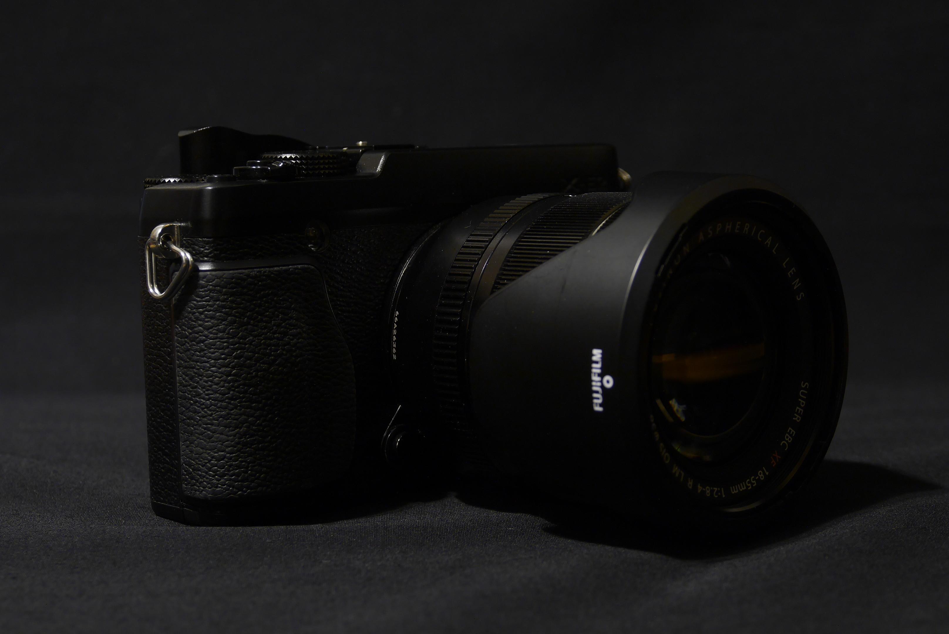 XーE2とxf18-55mm