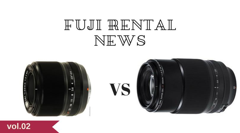 XF60mmF2.4とXF80mmF2.8のマクロレンズを比較レビューしてみる。【フジレンタル通信vol.2】