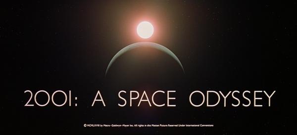 2001年宇宙の旅は冒頭から痺れるかっこよさ。人生で最も面白かった映画かもしれない。