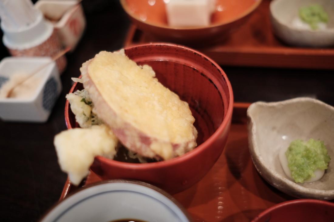 山久の天ぷら