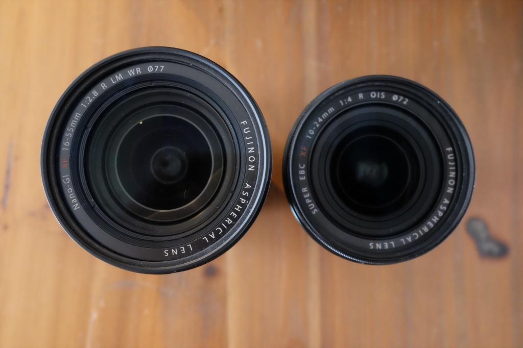 XF10-24mmF4 R OIS比較