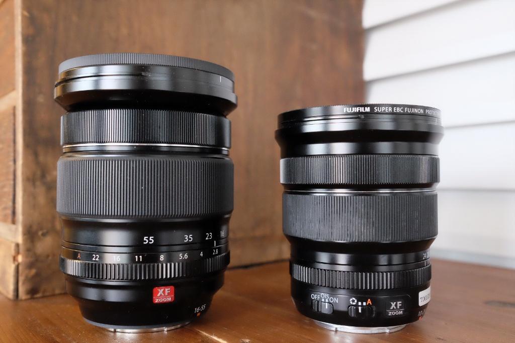 XF10-24mmF4 R OISサイズ比較