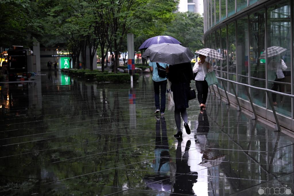 東京国際フォーラムの中庭
