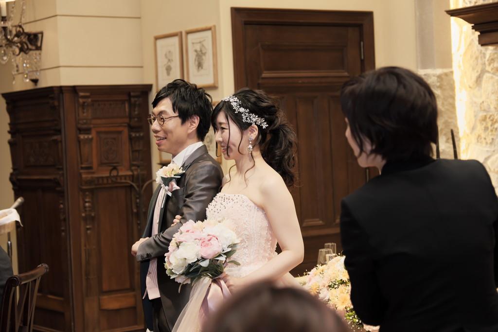 結婚式トリミング前作例
