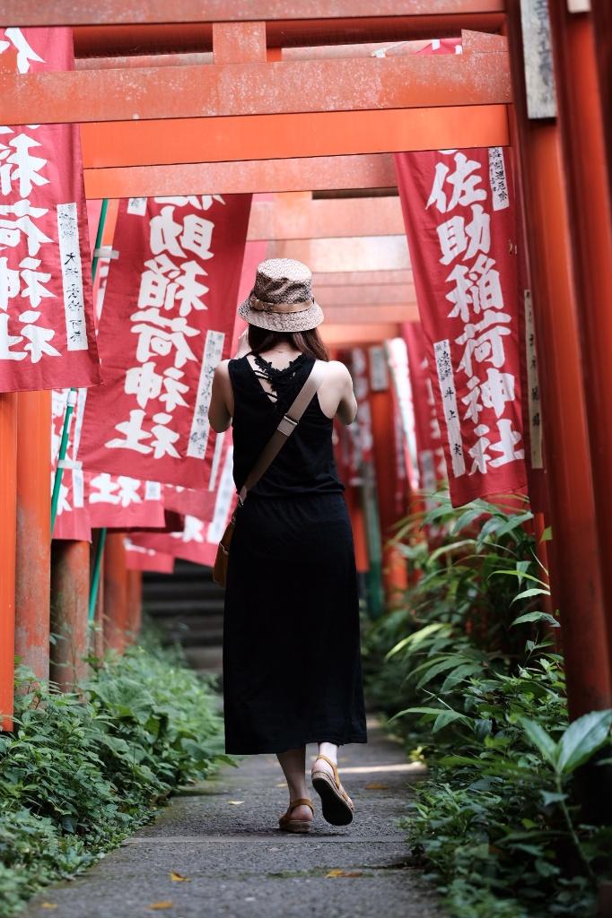 佐助稲荷神社 ポートレート