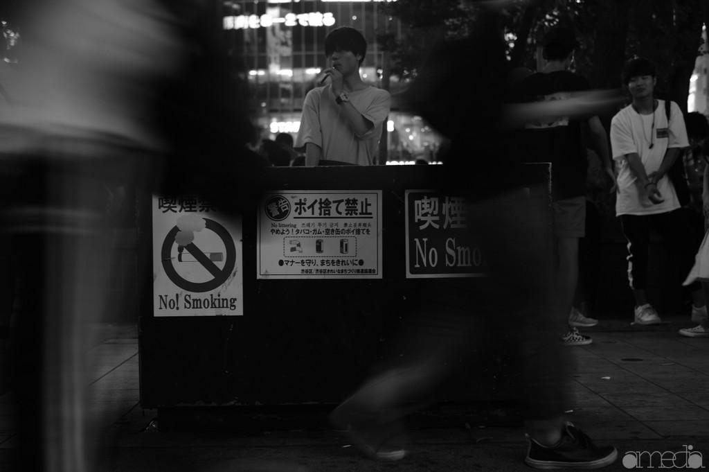 渋谷 スナップ写真 ACROS作例