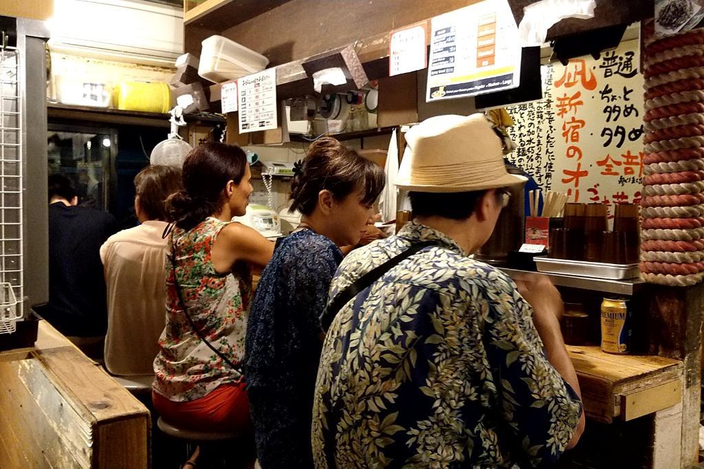 すごい煮干ラーメン 凪 新宿
