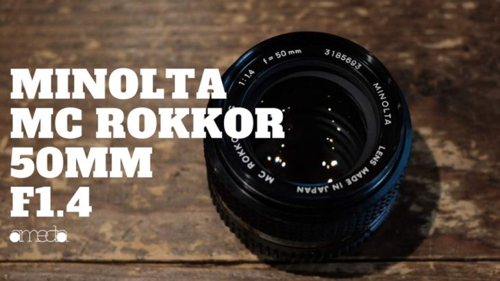 MINOLTA mc rokkor 50mm f1.4