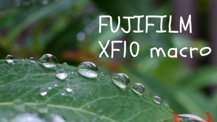 XF10 マクロ撮影