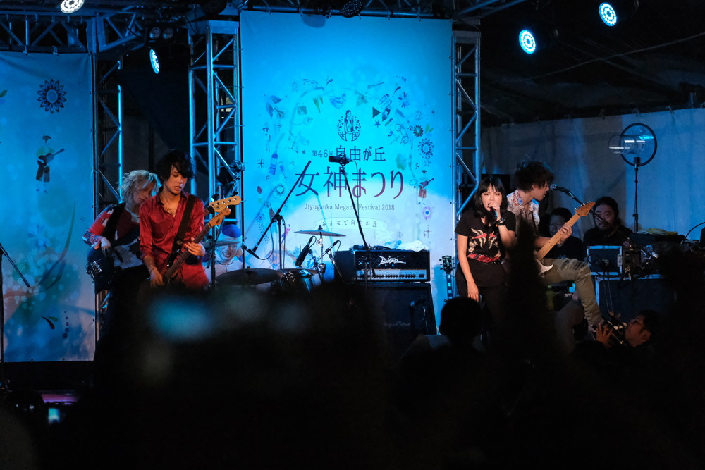XF55-200mmF3.5-4.8で夜ライブ撮影