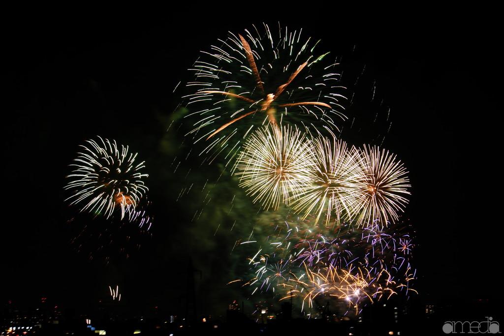 多摩川花火大会 2018年