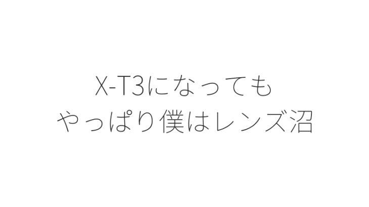 富士フイルムX-T3の爆速AF、瞳AF、フォーカス精度があるから使いたくなる、おすすめレンズ3選。【作例追加】