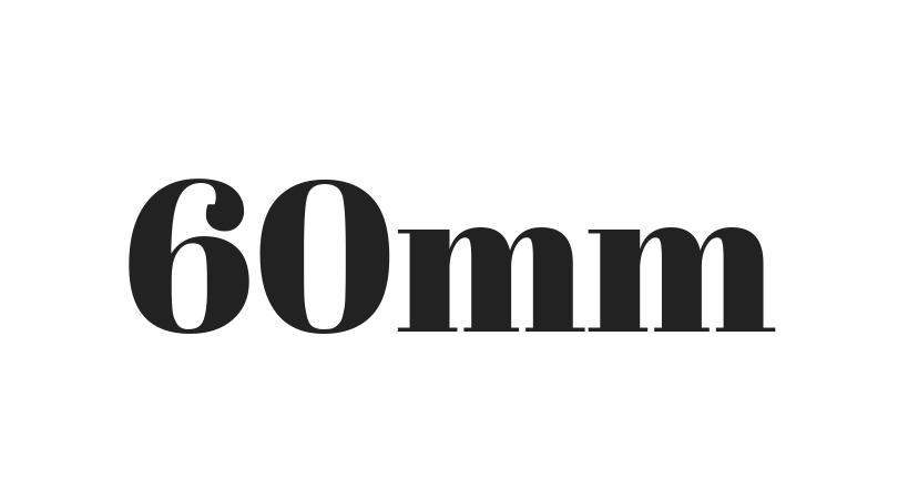 僕は標準レンズは60mmが一番好きそうだ。中望遠単焦点好きのための標準レンズになりそう?