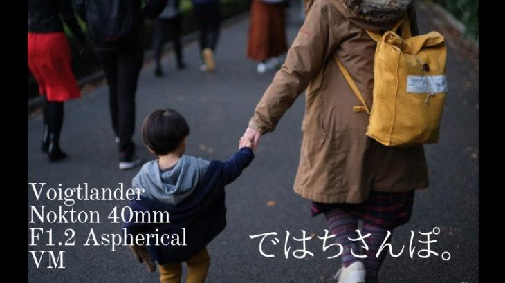 【作例】フォクトレンダ―ノクトン40mmf1.2VMで新宿御苑でスナップをしてきた |別名はちさんぽ