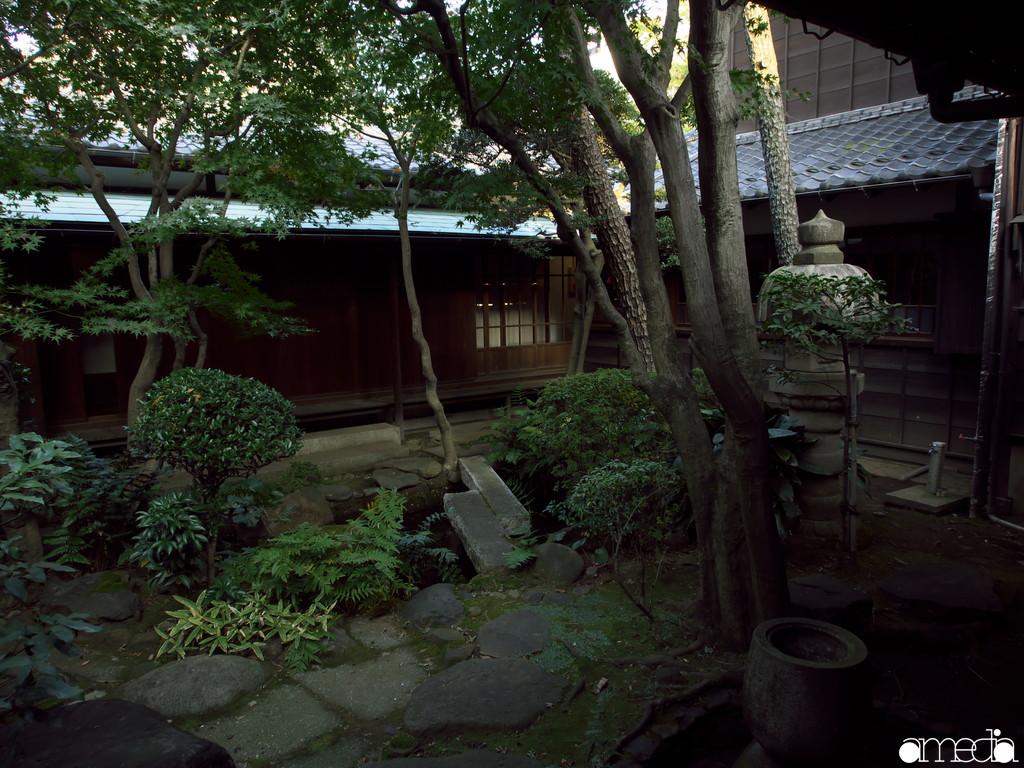 旧朝倉家住宅 中庭