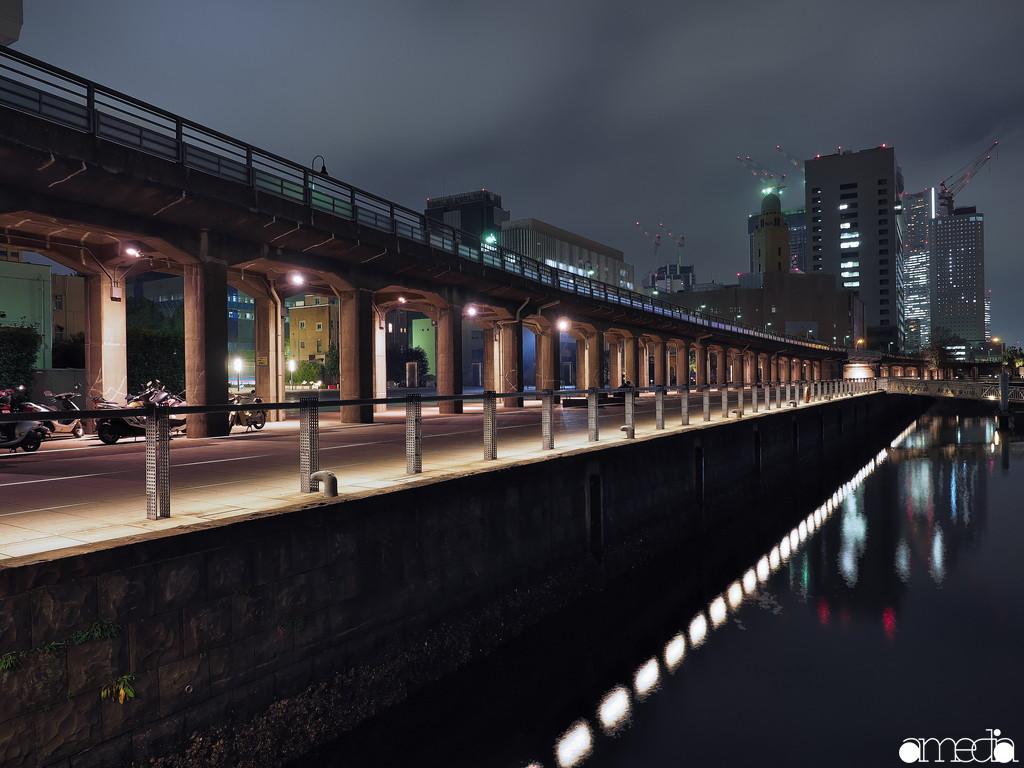 横浜夜景撮影 長秒露光