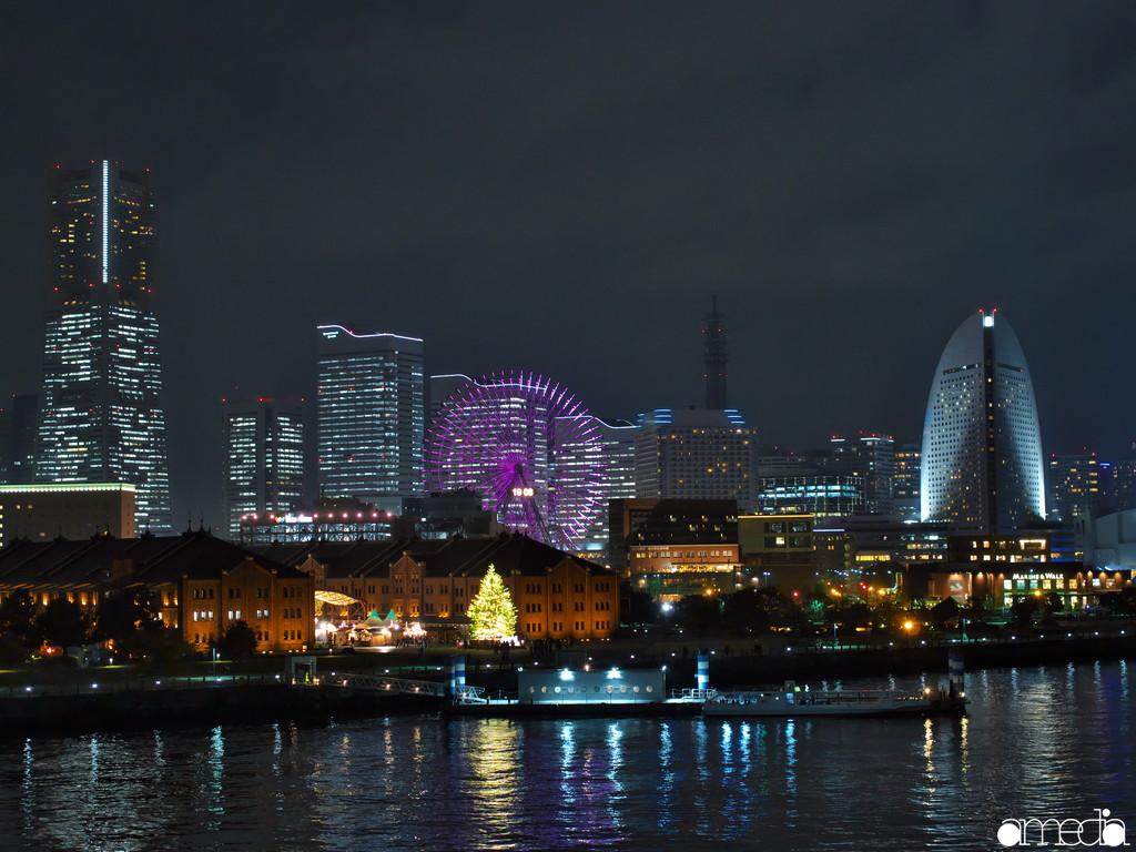 大さん橋 夜景撮影