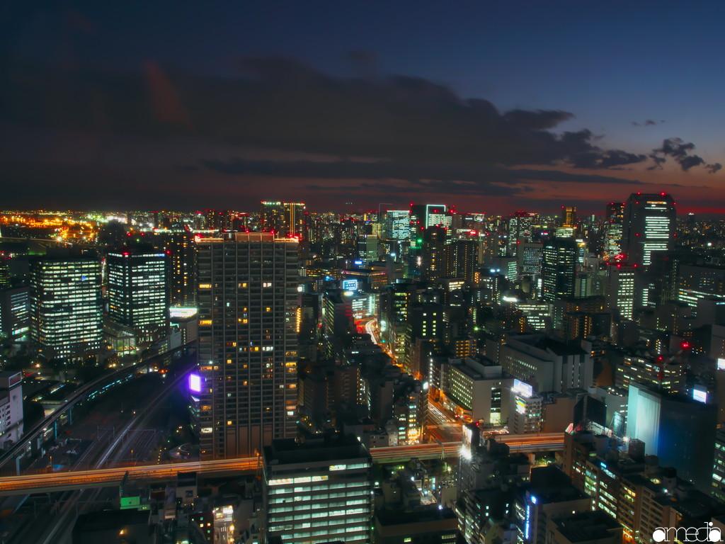 世界貿易センタービル 夜景
