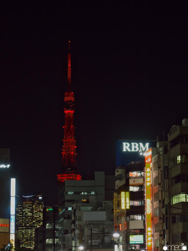 真っ赤な東京タワー 2019 春節