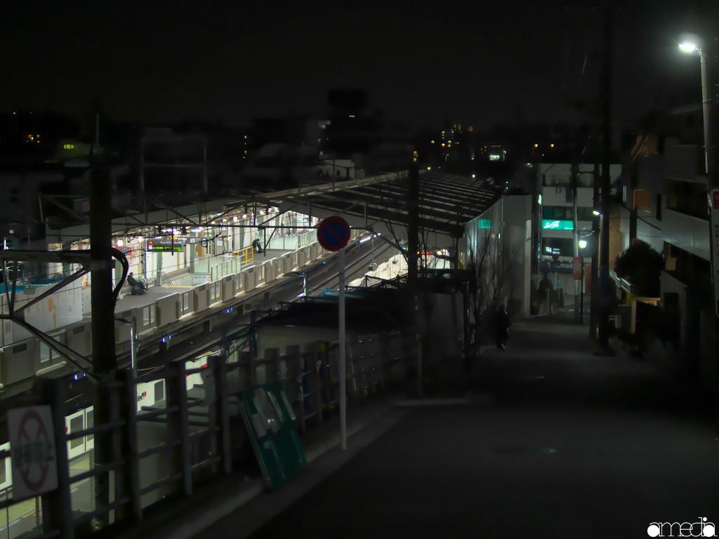 大倉山公園へ向かう途中