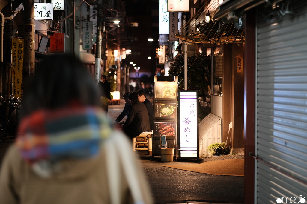 浅草 夜 撮影