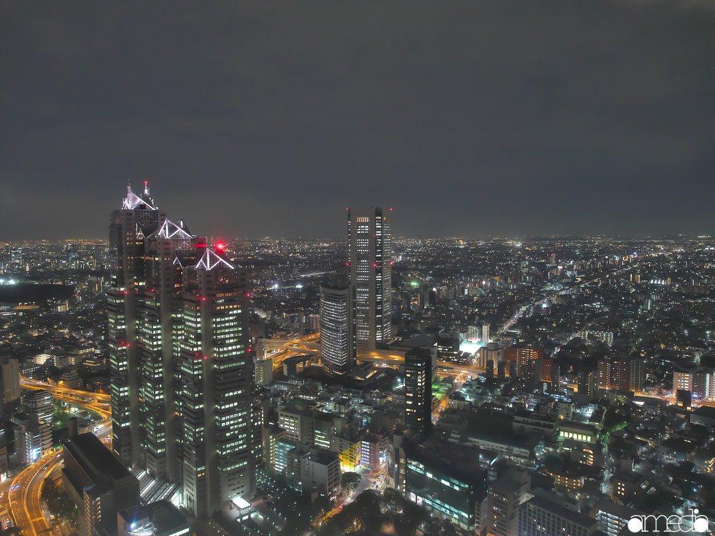 都庁 南展望室 夜景撮影