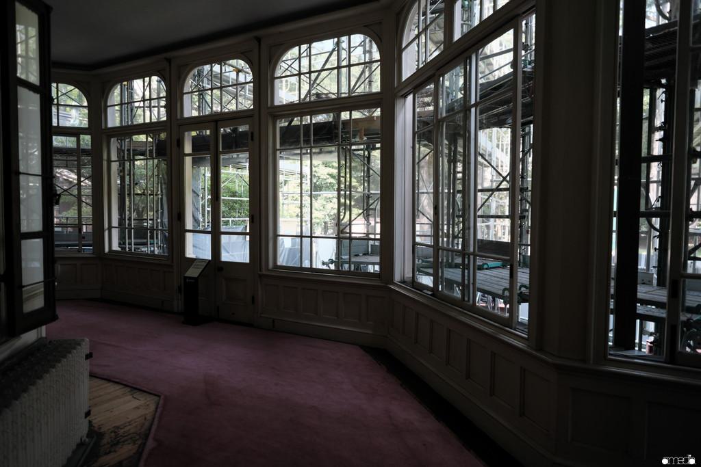 XF14mmf2.8R 建物作例 旧岩崎邸庭園