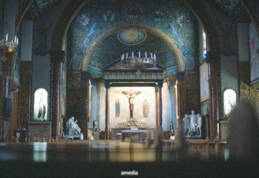 目黒サレジオ教会をフィルムで撮ってきた NikonF801s AiNIKKOR50mmF1.4